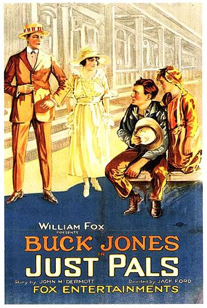 Just Pals - Theatrical poster for Just Pals (1920)