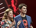 Justin and Sophie Trudeau - Global Citizen Festival Hamburg 06.jpg