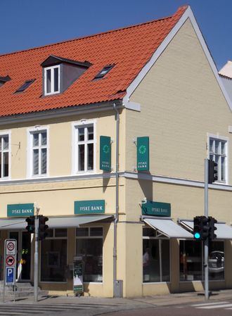Jyske Bank - Jyske Bank, Frederikssund.