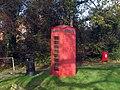 K6 Telephone Kiosk on The Green - geograph.org.uk - 1596546.jpg