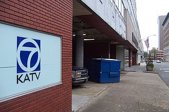 KATV - KATV's studio on Fourth Street in Little Rock.