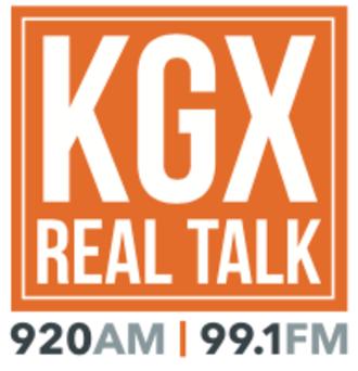 KKGX - Image: KGX Real Talk Logo