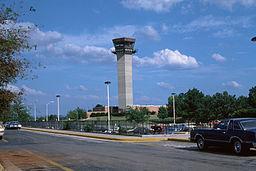 KHSV Air Traffic Control Tower 1977