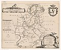 Kaart van de grietenij Doniawerstal De grietenye van Doniawerstal (titel op object), RP-P-AO-2-21C-3.jpg
