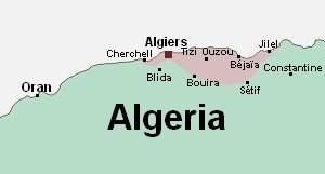 Kabyle people -  Regions of Kabyle settlements in Algeria