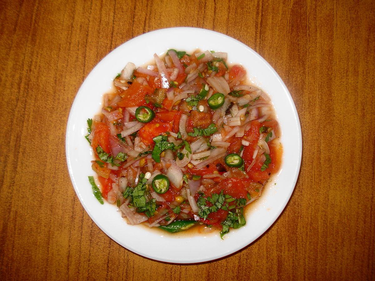 Quick Indian Cucumber, Tomato Salad Recipe — Dishmaps