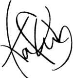 Kaho and heart symbol