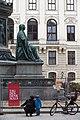 Kaiser Franz-Denkmal Hofburg Wien 2015 Tag des Denkmals.jpg