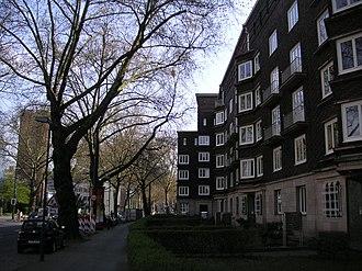 Düsseldorf-Golzheim - Image: Kaiserswerther Str Düsseldorf Golzheim