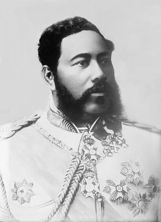 Kalākaua - Portrait of Kalakaua
