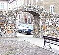 Kamienna Góra, fragment muru przy ul. Spacerowej =Aw58KS=.JPG