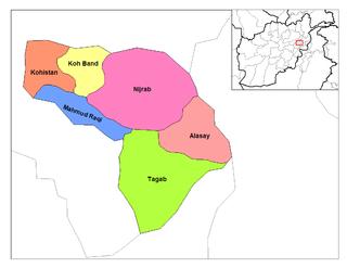 Alasay District District in Kapisa Province, Afghanistan