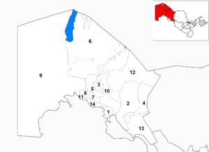 Districts of Uzbekistan - Districts of Karakalpakstan