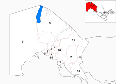 Karakalpakstan districts numbered2.png