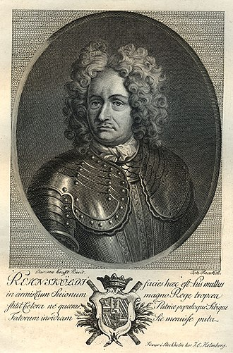 Carl Gustav Rehnskiöld - Carl Gustav Rehnskiöld. Engraving by Johan Snack based on a paitning by David von Krafft.