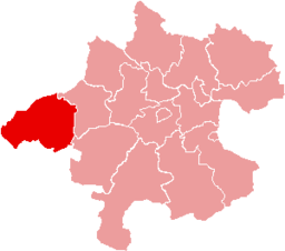 Bezirk Braunau am Inn location map