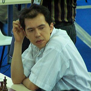 2010 Asian Games medal table - Rustam Kasimdzhanov from Uzbekistan won a gold medal in chess.