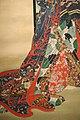 Kawanabe kyosai, la cortigiana infernale jogoku dayu, 1870-1880 ca. 04 kimono.jpg