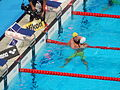 Kazan 2015 - 100m backstroke finish.JPG