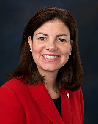 2016 United States Senate election in New Hampshire - Image: Kelly Ayotte, Official Portrait, 112th Congress 1