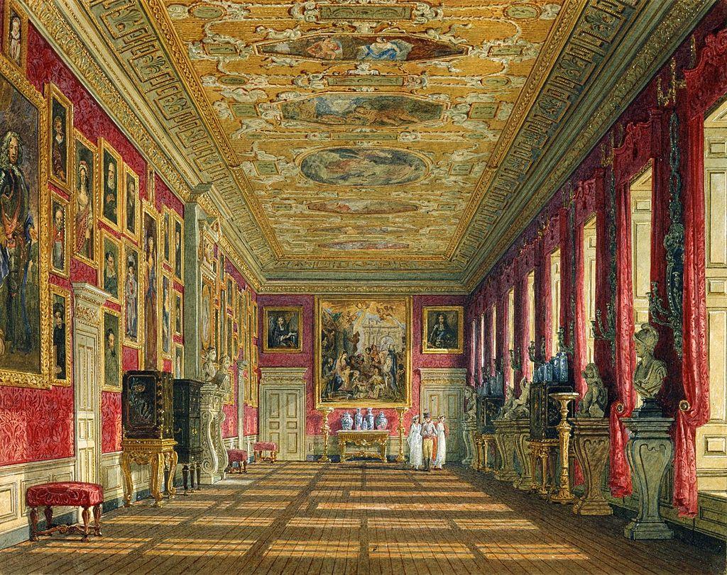 Кенсингтонский дворец, Королевская галерея, Чарльз Уайлд, 1816 - royal coll 922158 257086 ORI 0 0.jpg