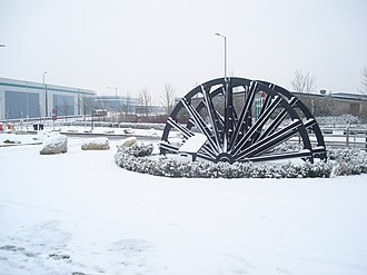 Coventry Colliery - Memorial to the former workers of both the Coventry Colliery and the smokeless fuel plant, now located on the redeveloped ProLogis distribution park
