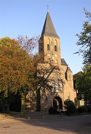 Hooglanderveen - The church of Hooglanderveen