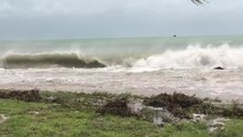 File:Key West Waves Ahead of Hurricane Irma.webm