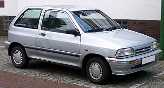 Facelift Kia Pride 3 Door (Germany)