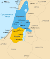 Kingdoms of Israel and Judah map 831.png