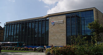 Newcastle University - The King's Gate building hosts student and administrative services and was built in 2009.