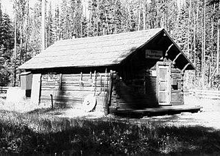 Kintla Lake Ranger Station United States historic place