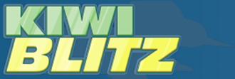 Mary Cagle - Logo of Kiwi Blitz