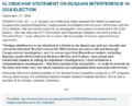 Klobuchar statement on Russian interference in 2016 election.png