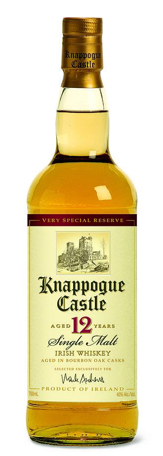 Knappogue Castle Irish Whiskey - Knappogue Castle 12 Year Old