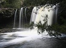 Tasmania-Climate-Knyvet Falls, Tasmania