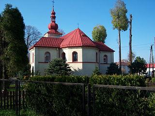 Wisła Wielka Village in Silesian Voivodeship, Poland