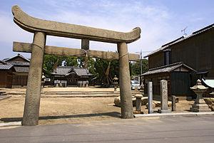 Shiwaku Islands - Kogarasu-jinja (木烏神社)