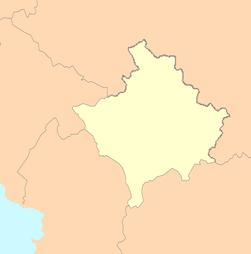 Kosovo map blank.png
