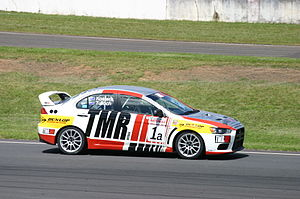 Australian Manufacturers' Championship - Mitsubishi has dominated the championship in recent years with the Lancer Evolution.