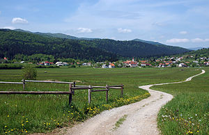 Municipality of Loška Dolina - Landscape in the Municipality of Loška Dolina