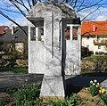 "Krastaler Marmor Skulptur ""Altar von Mircea Lacatus 2006"" Stadt Wolfsberg, Kärnten.jpg"