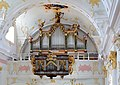 Kremsmünster - Kaplaneikirche Kirchberg, Orgel.JPG