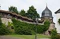 Kronach, Stadtbfestigung, nördlicher Zug zum Hexenturm, 005.jpg