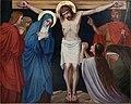 Kruisweg Sint-Pancratiuskerk, Heerlen, statie 12 Jezus sterft aan het kruis.jpg