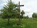 Kryžius būsimos bažnyčios vietoje, Jonava.JPG