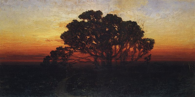 Kuindzhi Evening 1885 1890