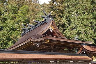 Kumano Hongū Taisha - Hongu Taisha rooftop
