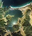 Kumihama Bay Aerial photograph.1976.jpg