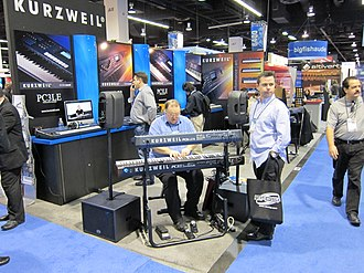 Kurzweil Music Systems - PC3LE6  on NAMM 2010